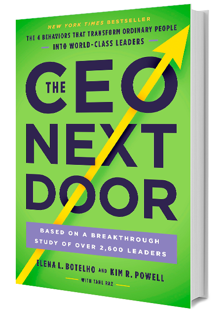 CEO Next Door book cover