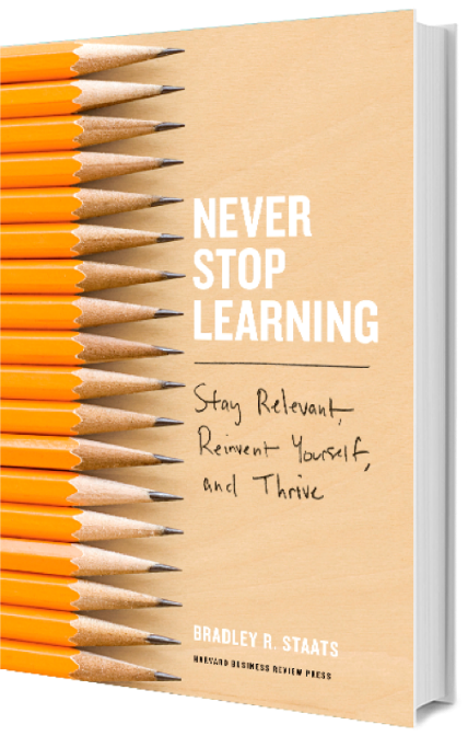 Never Stop Learning book cover