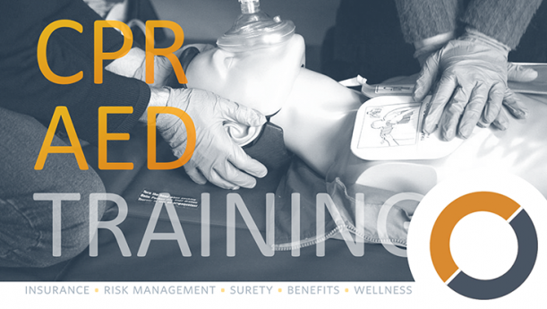 first aid, cpr, aed training
