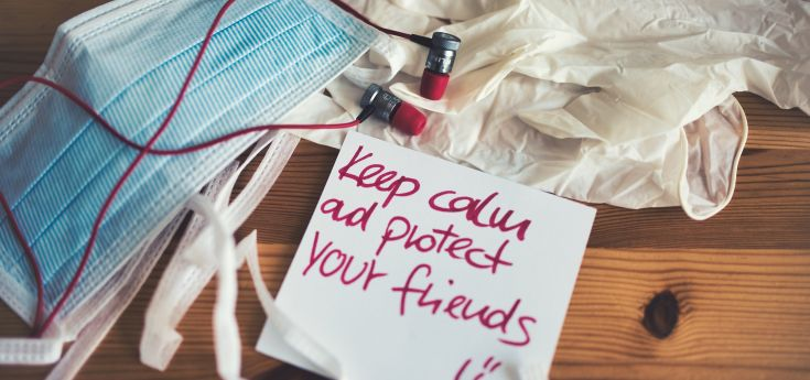 photo - keep calm and protect your friends